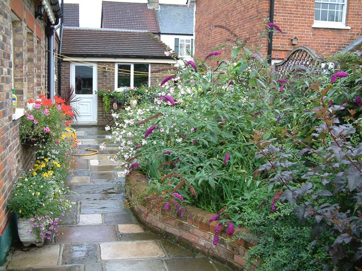 idea for cottage garden design - Garden Design Cottage Style