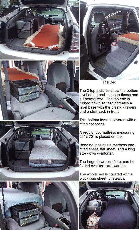 Cheap RV Living.com     Living Out of a Prius