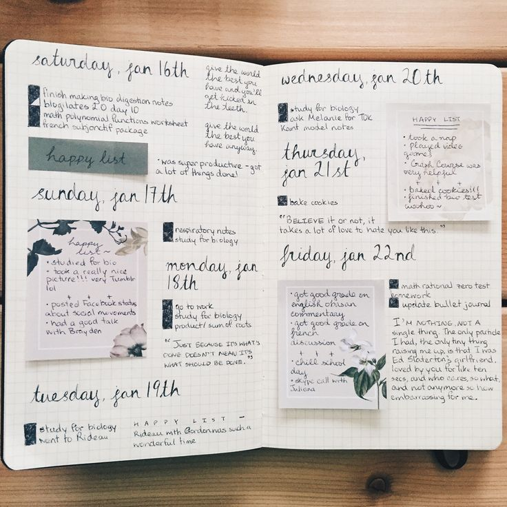 #bullet journal : GLADNESS OF SUFFERING