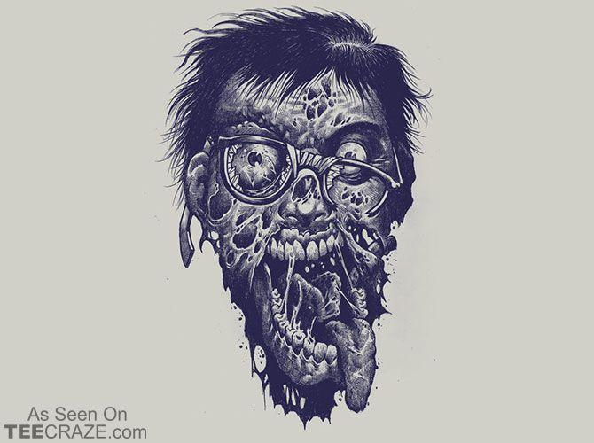 Geek Zombie T-Shirt - https://teecraze.com/geek-zombie-t-shirt/ -  Designed by Geno75   You May Also Like                          Adventure Time T-Shirt                                       Go Home English, You're Drunk T-Shirt