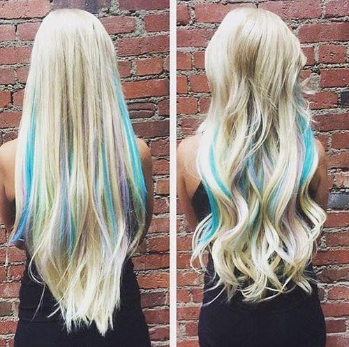 Miraculous 1000 Ideas About Blue Hairstyles On Pinterest Midnight Blue Short Hairstyles Gunalazisus
