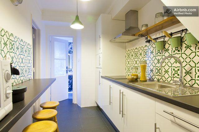 Kitchen - Apartment Mouraria