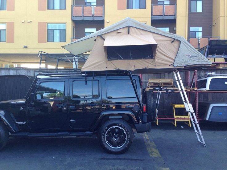 Custom Truck - Tent on top of a jeep rack - South San Francisco, CA, United States