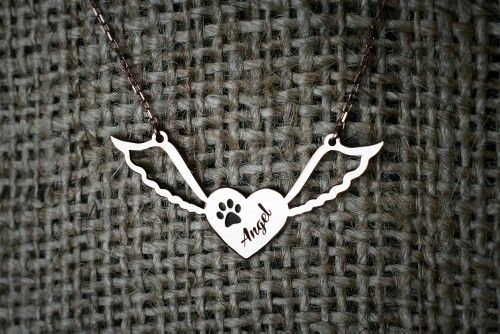 Angel paw necklaces