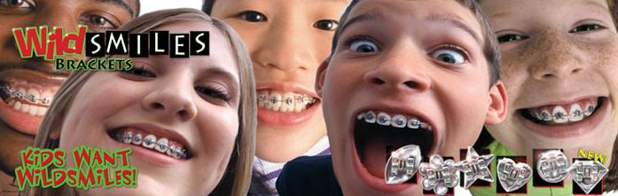 For an #orthodontic #appliance that makes a fashion statement, let your child or teen choose WildSmiles Braces™ http://wu.to/xDGaEI