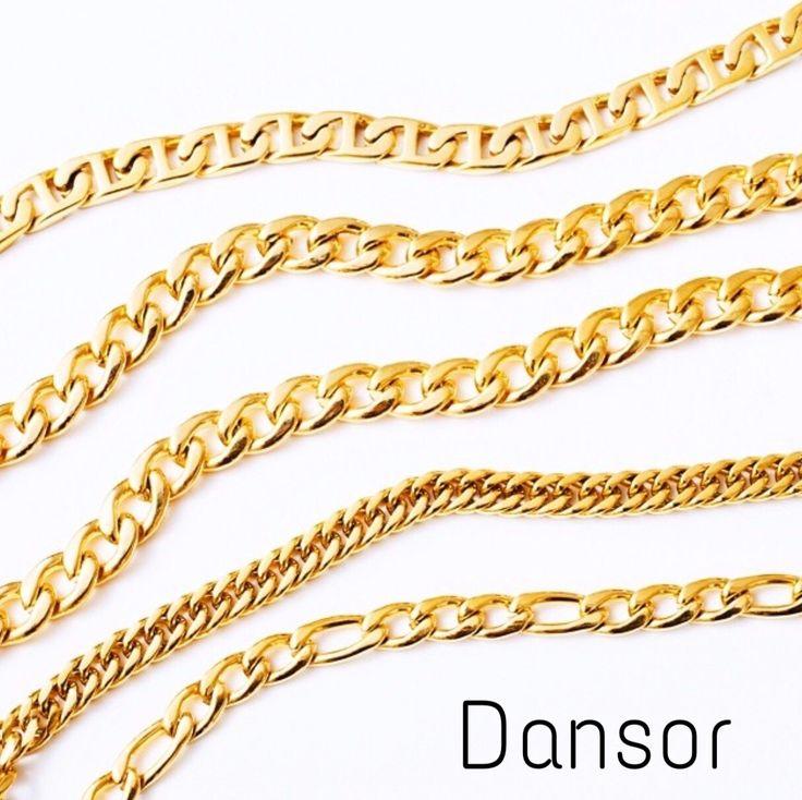 Cadenas oro 18k #jewelry #joyeria #design