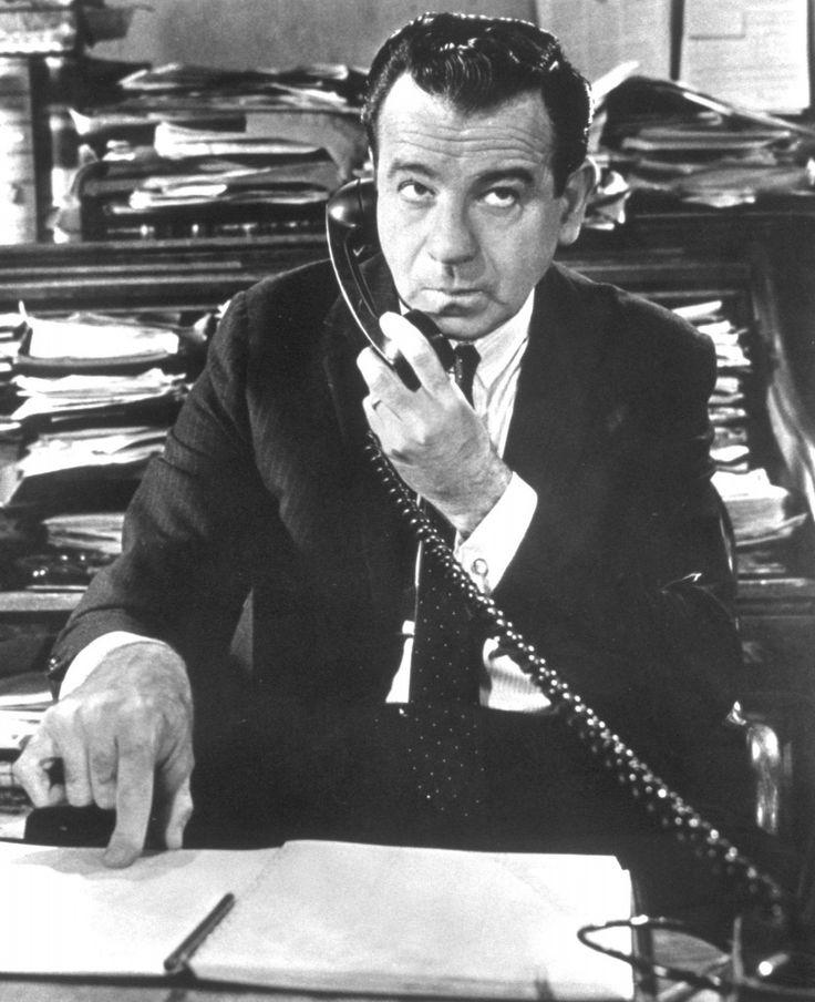 Willie Gingrich Walter Matthau Non per soldi... ma per denaro (The Fortune Cookie) di Billy Wilder 1966