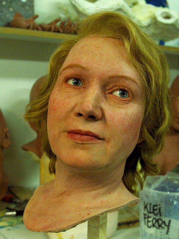 Merel van der Lande Special Make Up | Historische Poppen voor het Nederlands Openluchtmuseum www.merelvanderlande.com