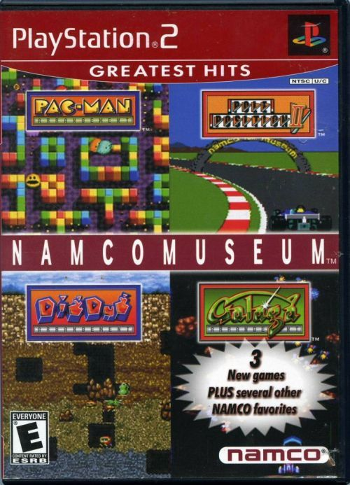 Namco Museum (Sony PlayStation 2, 2001) Complete Greatest Hits