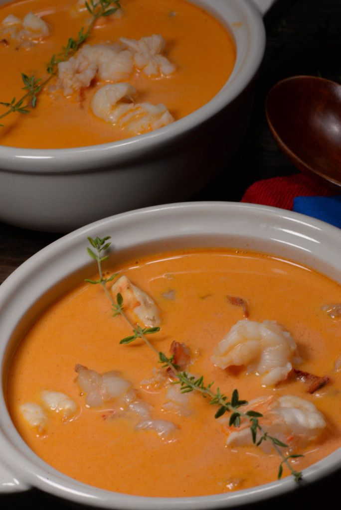 Icelandic Lobster Soup - International Cuisine