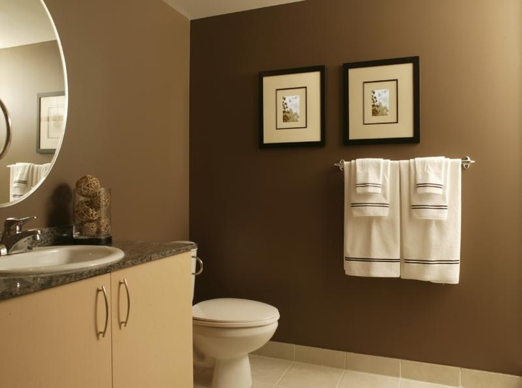 Paint Colors For Bathroom Walls 97 best brown bathrooms images on pinterest | bathroom ideas