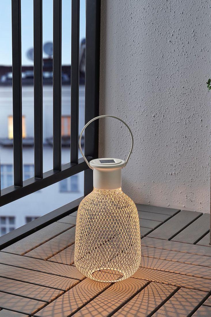 Solvinden Solarlaterne Led Fur Draussen Netz Weiss Ikea Deko Lampen Garten Solar