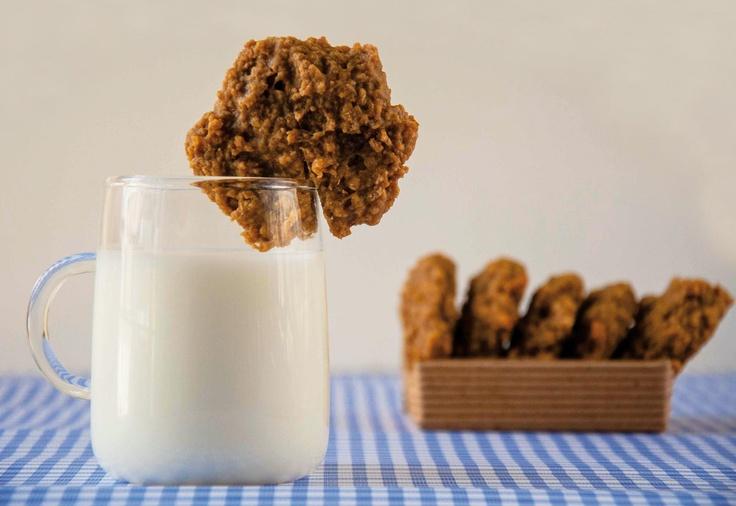 Μπισκότα με βρώμη, μπανάνα και κανέλα - BHMAgourmet
