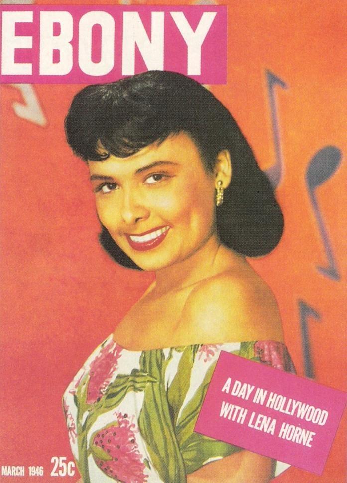 Lena Horne in Ebony #blackbeauty #blackwomen
