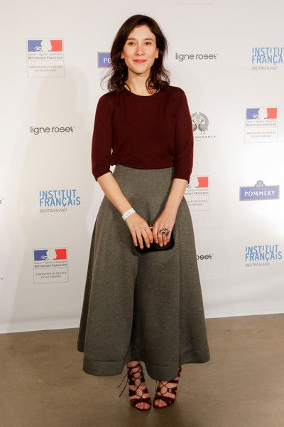 Sibel Kekilli attends the Soiree Francaise Du Cinema 2016 during the 66th Berlinale International Film Festival Berlin at French Embassy on February 15, 2016 in Berlin, Germany.
