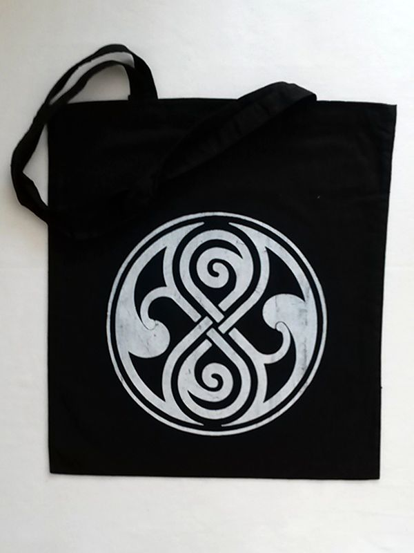 Seal of Rassilon Cotton Tote via Tribe of E. Click on the image to see more!