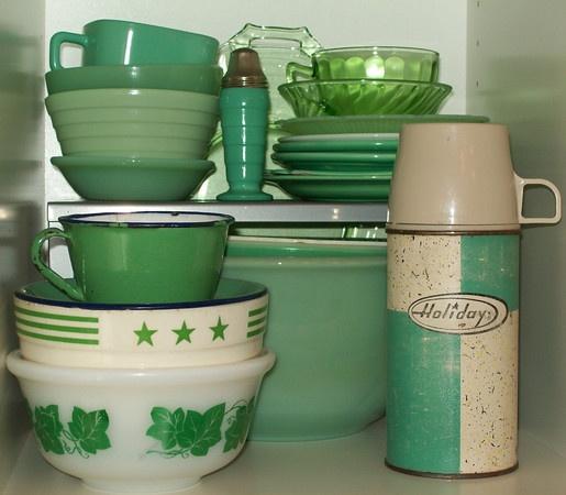 Green Glass ...