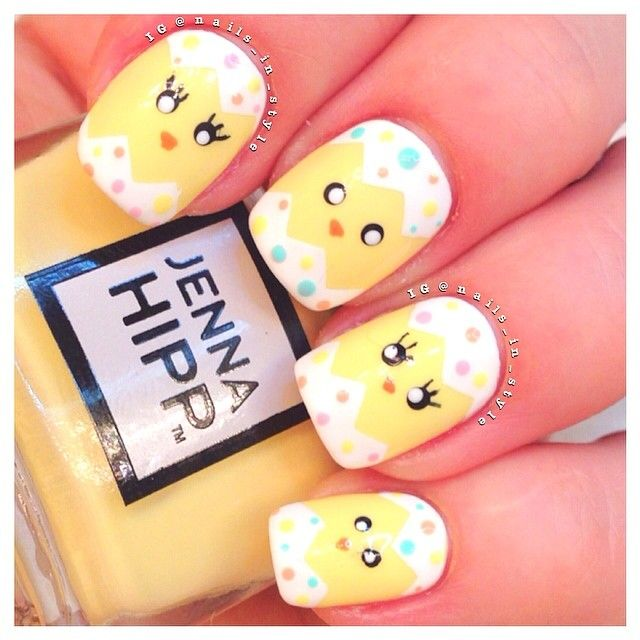 Easter Nail Art Designs: 25+ Best Ideas About Easter Nail Art On Pinterest