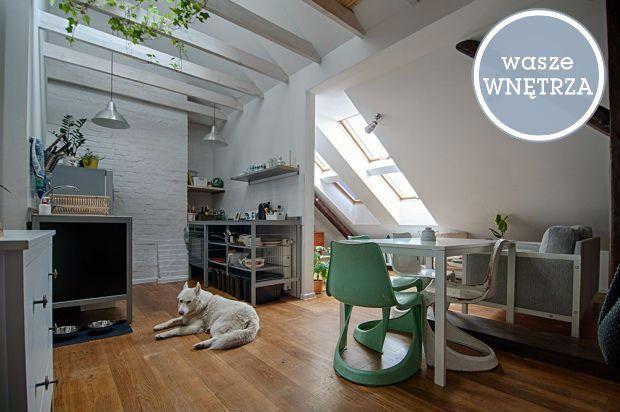 Poddasze o powierzchni 67 m2 po obrysie oraz powierzchni użytkowej 34 m2 składa się z kuchni połączonej z salonem i jadalnią oraz antresolą,...