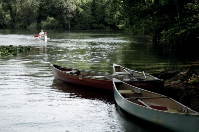 Canoe Trail Near Plettenberg Bay