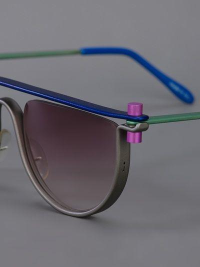 OPTIC STUDIO DENMARK 'N° four' sunglasses http://www.thesterlingsilver.com/product/dolce-gabbana-women-4269-sunglasses-black/
