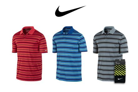 $99 for a 3-Pack of Men's Nike Ultra Stripe #Golf Polos PLUS One Nike Jacquard Towel ($200 Value. Includes Shipping!)  Click here to purchase: https://www.groupgolfer.com/redirect.php?link=1sqvpK3PxYtkZGdkb36r