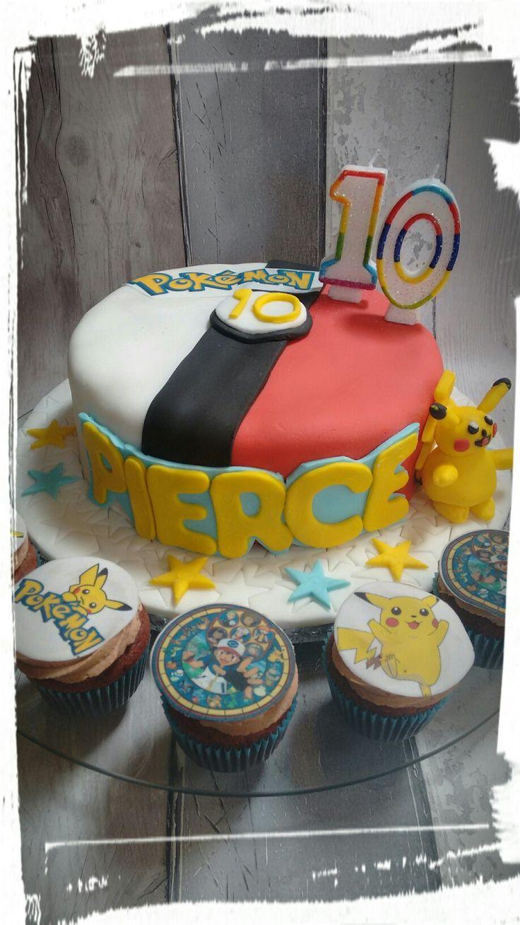 My sons birthday cake..pokemon