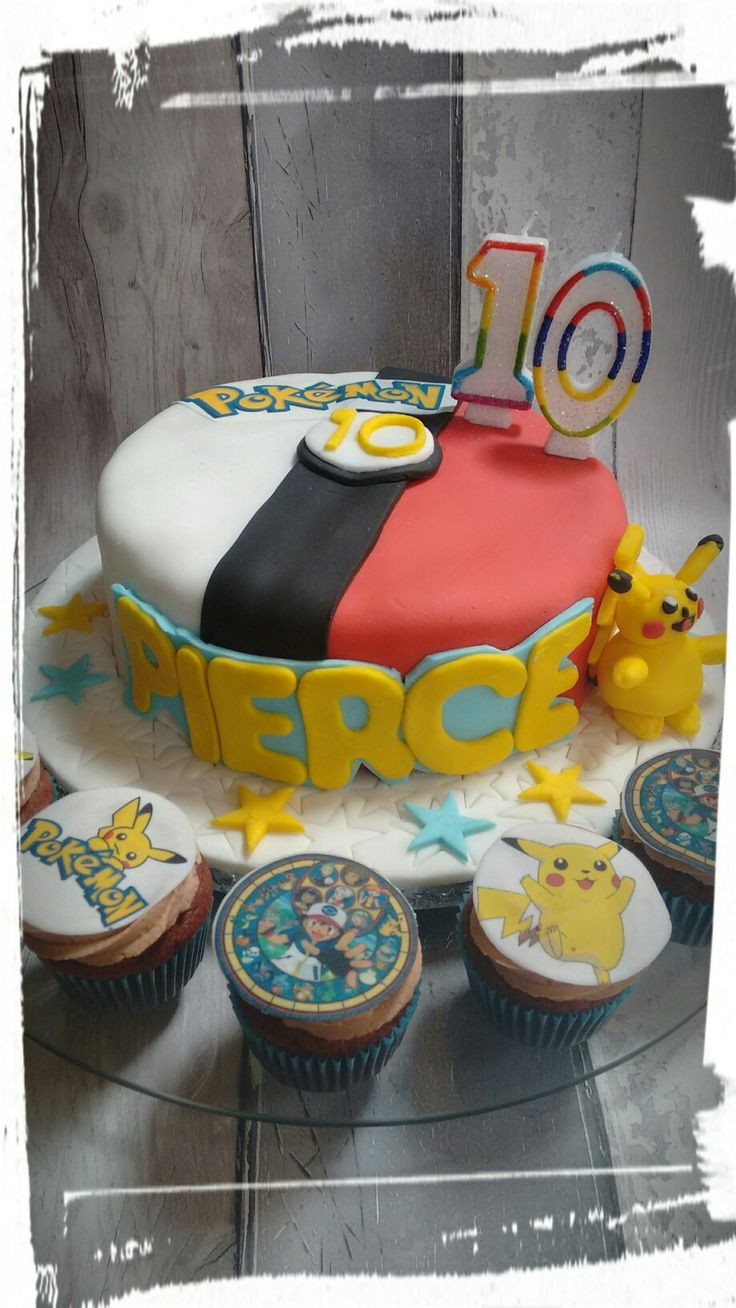 My sons birthday cake..pokemon