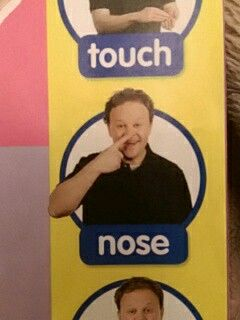 Nose - Makaton / Sign / Mr Tumble / Something Special