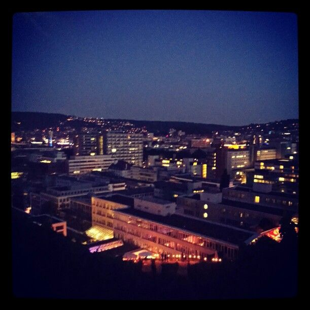 Stuttgart by night
