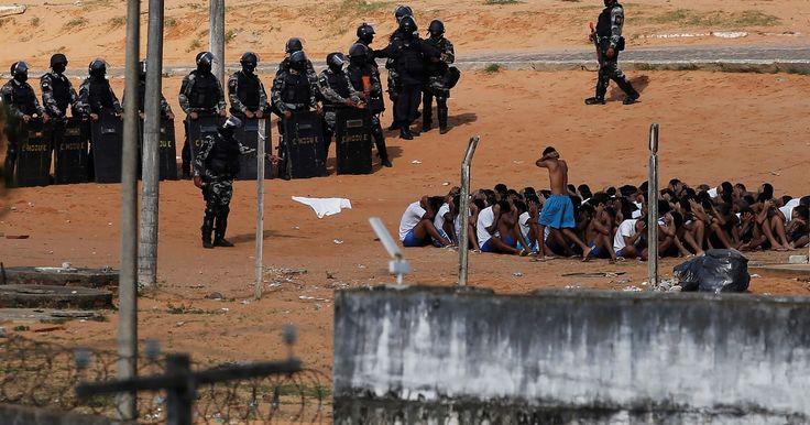 Polícia entra em Alcaçuz, faz contagem de presos e não divulga dados