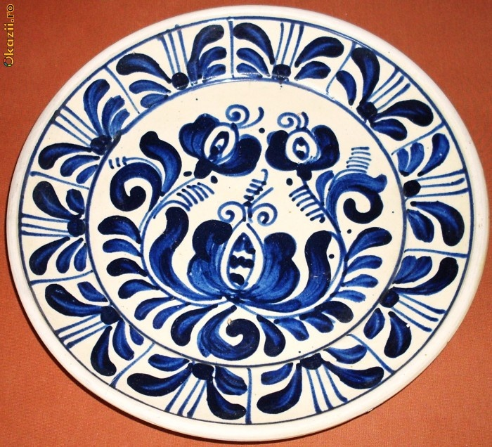 ceramic plate from Corund/Korond, Transylvania