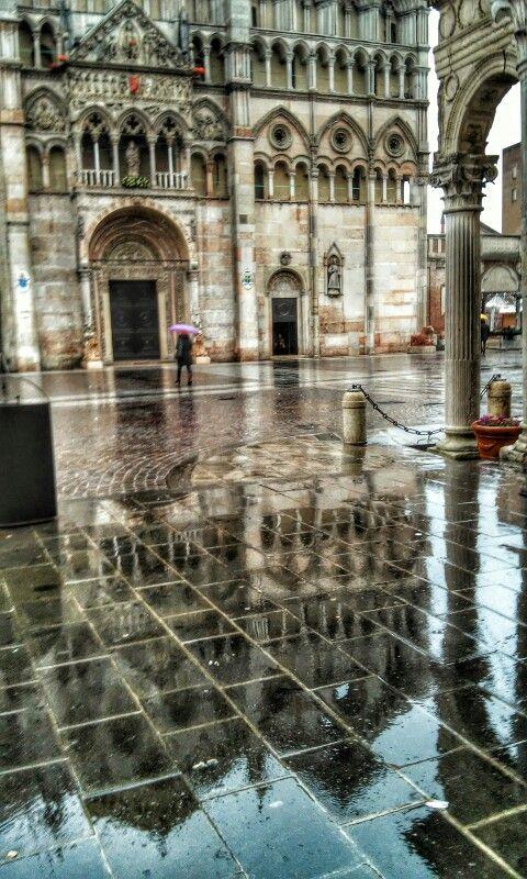 Riflessi Duomo diFerrara......