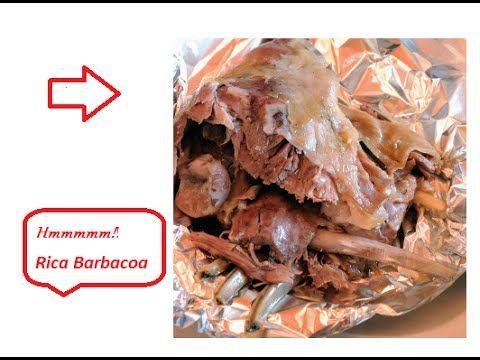 Como hacer Barbacoa de Borrego en Casa!! - YouTube