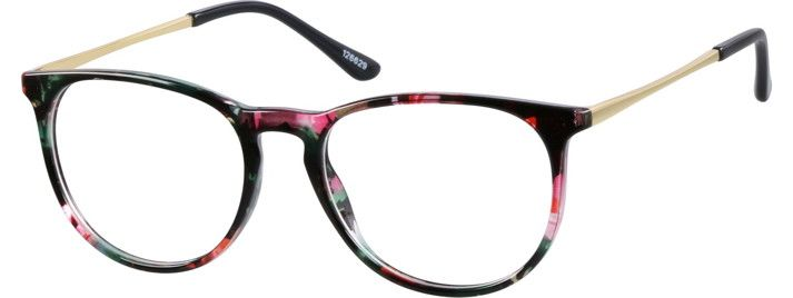 Order online, women multicolor full rim mixed materials round eyeglass frames model #126629. Visit Zenni Optical today to browse our collection of glasses and sunglasses.