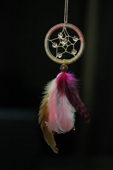 I absolutely live this dreamcatcher, so cute and pretty.