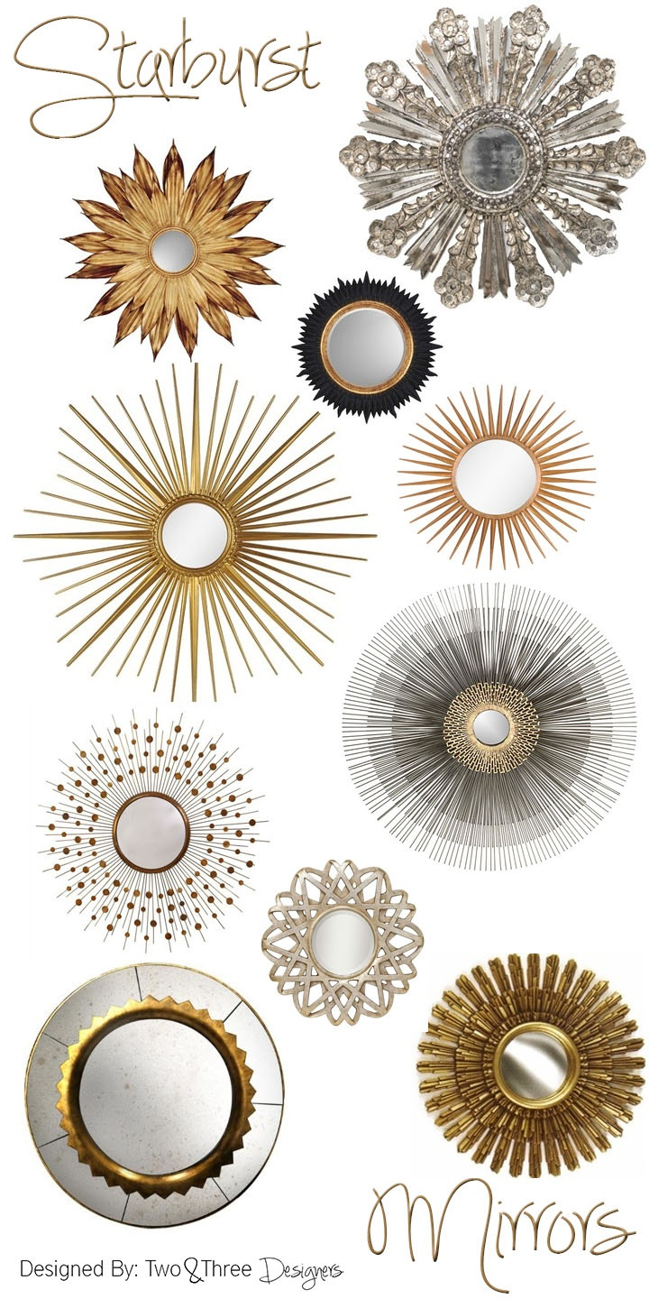 Starburst mirrors i want one inspo inredning for Mirror 45 x 60