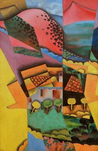 Paysage à Céret    Juan Gris