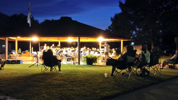This is such an awesome tradition!!  The City Band plays every Thursday night in this summer!  Everyone is invited to play or just come and listen!!  You'll find your neighbors and friends and kids there!!  Always fun !!