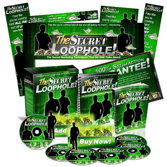 Minisite Graphics Set #21: The Secret Loophole