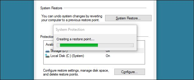 How to Make a Shortcut Icon to Create a System Restore Point in Windows