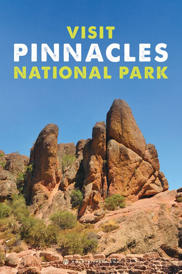 Located east of the Salinas Valley in California, Pinnacles National Park features extraordinary rock formations and caves as a result of volcanic activity and earth movement.