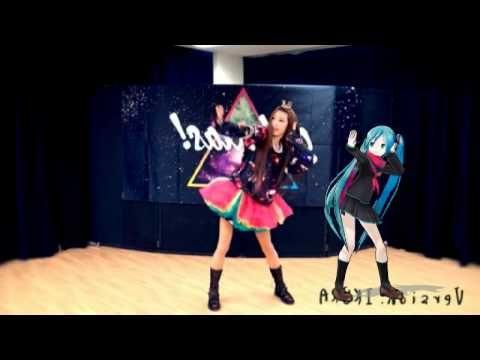 Mirror【いとくとら+MMD 初音ミク】galaxias!踊ってみたコラボ - YouTube