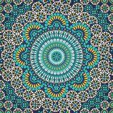 Naadloos Patroon Van Marokkaans Mozaïek Stock Afbeelding - Afbeelding: 30834901
