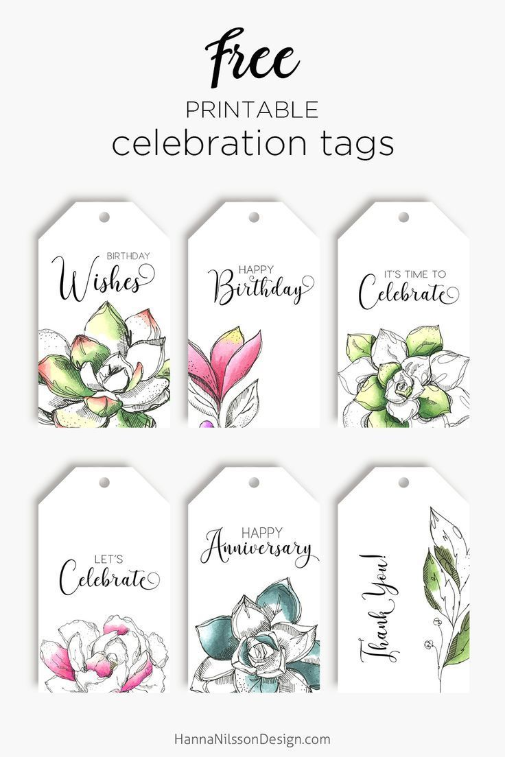 Celebration Tags Printable In 2020 Gift Tag Template Printable Christmas Gift Tags Printable Templates Free Gift Tags