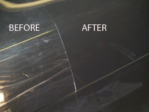 Car paint scratch repair near me