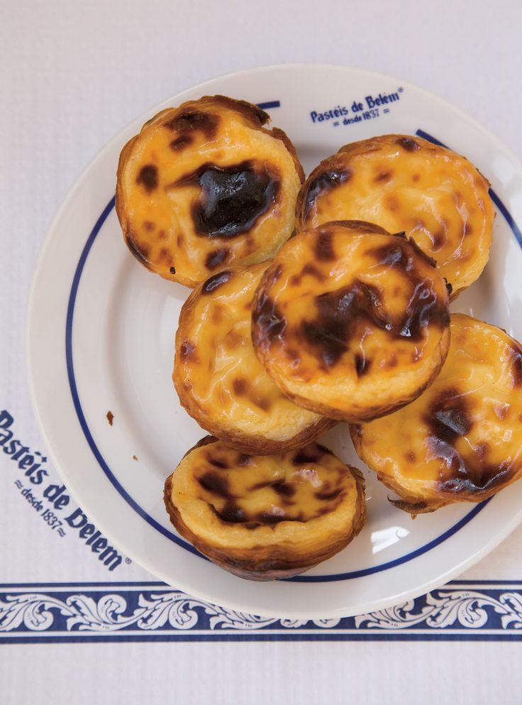 Recette de Ricardo de tartelettes portugaises (pasteis de nata)
