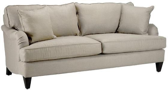 Copy cat chic restoration hardware english roll arm sofa for Who manufactures restoration hardware furniture