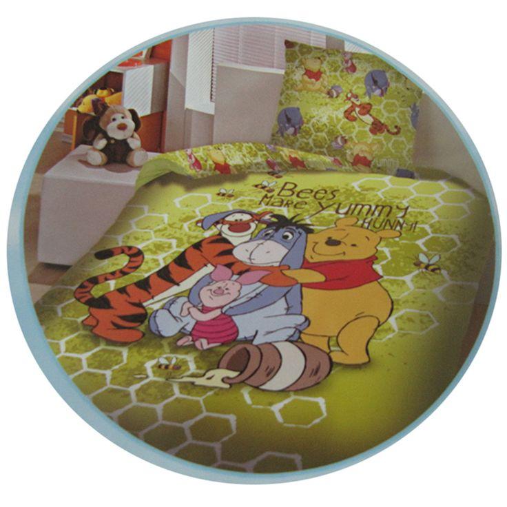 Copriletto Winnie the Pooh, dolce come il miele!  #winniethepooh #tigro #Ih-Oh #idearegalo http://www.carillobiancheria.it/copriletto-telo-multiarredo-disney-winnie-the-pooh-singolo-dis-yummy-h690-p-8545.html