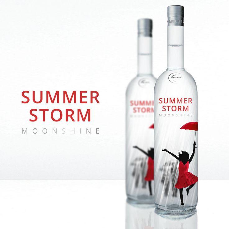 Summer Storm   Label Design by attilakamasz